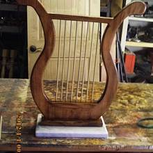 music lyre - Woodworking Project by barnwoodcreations