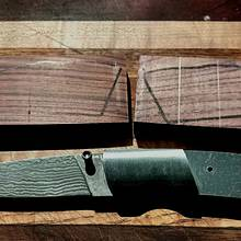 Folding lock back knife  - Woodworking Project by Mark Michaels
