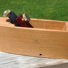 Modern Coffin Smoother - Woodworking Project by Tim Dahn