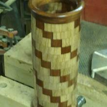 "5'dia x 11"" vase  - Woodworking Project by RayMoon"
