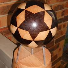 12 STAR BALL - Woodworking Project by Sam Shakouri