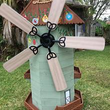 """FAN from la Mancha"" - Woodworking Project by Angelo"