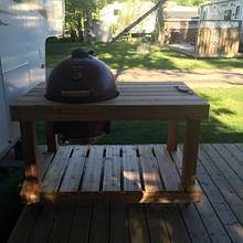 BBQ table - Woodworking Project by MaggiesDad