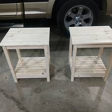 End tables - Woodworking Project by Ed Schroeder