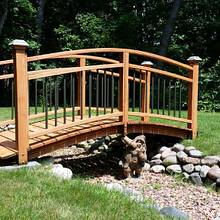 Garden Bridge - Woodworking Project by Mike S