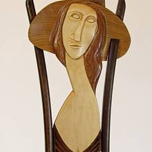 Modigliani's Jeanne Hebuterne Easel Chair - Woodworking Project by Woodbridge
