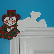 snowman - Woodworking Project by Darlene
