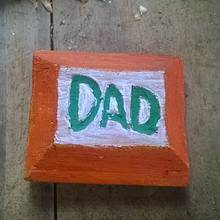 Father's Day Fridge Magnet - Woodworking Project by Bo Peep