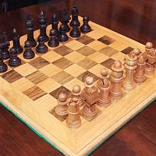 Chess set and Board - Woodworking Project by Dandy