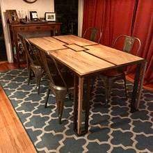 Wife's surprise dining table  - Woodworking Project by Indistressed