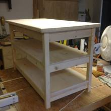 tv stand - Woodworking Project by Bill sheehan