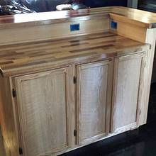 Island / Bar - Woodworking Project by Tim
