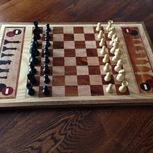Chess/Checkers Board  - Woodworking Project by Terry