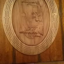 Oval Cribbage Boards - Woodworking Project by Chris Tasa