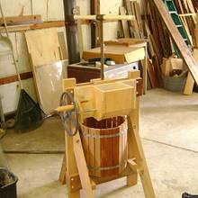 Apple cider press - Woodworking Project by Jeff Smith