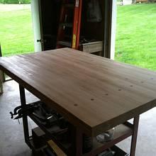 Bowling alley workbench - Woodworking Project by Vettekidd97