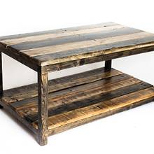 Pallet Wood and 2x2 Coffee Table - Woodworking Project by ryanhmiller
