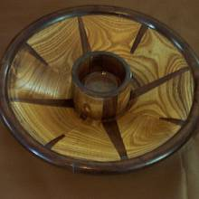 Chip and Dip Bowl - Woodworking Project by Wheaties  -  Bruce A Wheatcroft   ( BAW Woodworking)