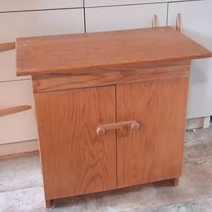 Bed Side Table (A blast from the past) - Woodworking Project by Madts