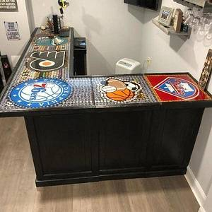 Basement bar - Woodworking Project by Angelo