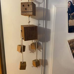 Block Head Weather detector - Woodworking Project by David A Sylvester