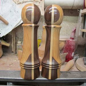 Chang and Eng - Woodworking Project by Lew