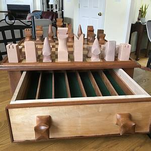Rehabbed chess board - Woodworking Project by Jack King