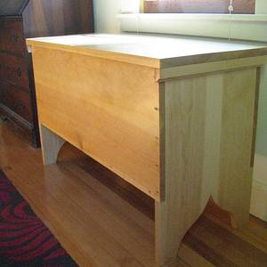 Six Board Chest - Woodworking Project by Old Flatulent Individual