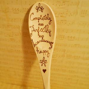 Pride and Prejudice Spoon - Woodworking Project by CharleeAnn