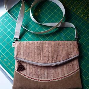 Cork Handbag - Needleworking Project by Celticscroller