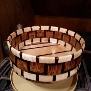 Zebra Bowl - Woodworking Project by Will