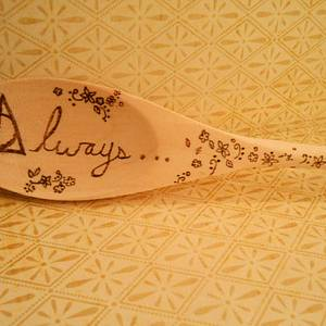 Deathly Hallows Spoon - Woodworking Project by CharleeAnn