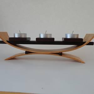 Bent Wood Votive Holder - Woodworking Project by kiefer