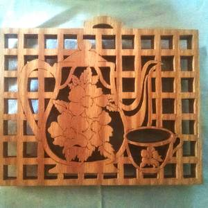 Tea Pot Trivet - Woodworking Project by Anthony