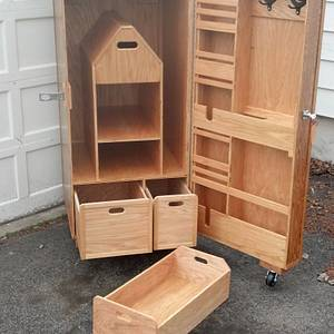 Equestrian Tack Locker     - Woodworking Project by Anthony