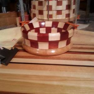 Just another clip board and bowl from scraps :) - Woodworking Project by Will