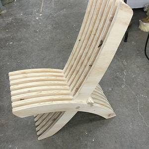Chair from scrap wood - Woodworking Project by Arky