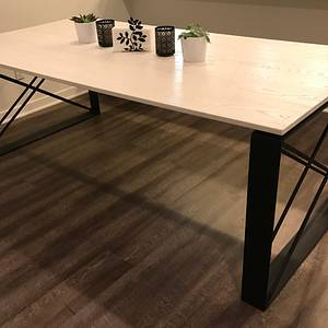Shadow X dining table - Woodworking Project by Indistressed