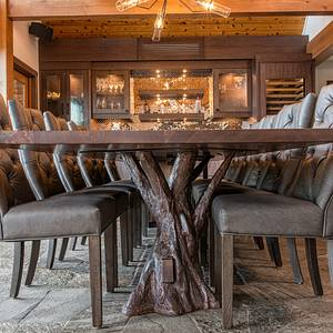 Walnut dining table - Woodworking Project by WestCoast Arts