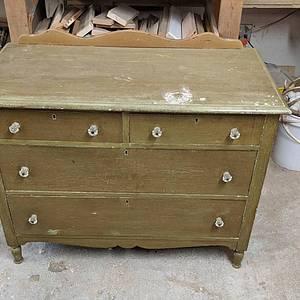 Dresser restoration - Woodworking Project by Rickswoodworks