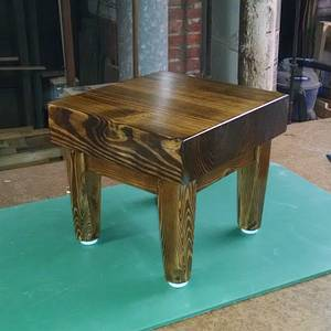 Large Plant Floor Stand - Woodworking Project by retired_guru_tech