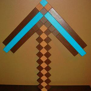 MINE CRAFT AXE - Woodworking Project by kiefer