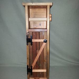 #4 Toilet Paper Dispenser - Woodworking Project by Jeff Vandenberg