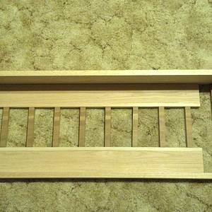 Wall Shelf - Woodworking Project by Roushwoodworking