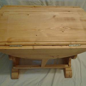 Drop Leaf Table  - Woodworking Project by Jeff Vandenberg