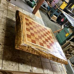 Chess? Anyone? - Woodworking Project by Narinder Jugdev