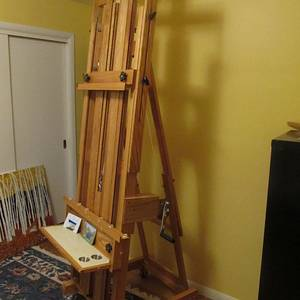 Giant Easel  - Woodworking Project by Billp