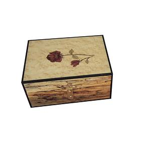 Rose jewelry box - Woodworking Project by Larry