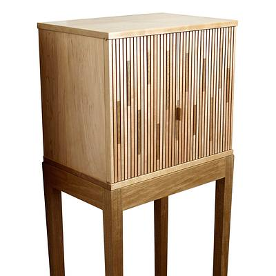 Tambour Cabinet - Woodworking Project by Norman Pirollo