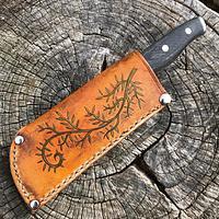 Chef's Knife Sheath - Project by WilsonLederwerk